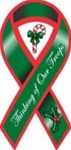 Support Our Troops Christmas Ribbon
